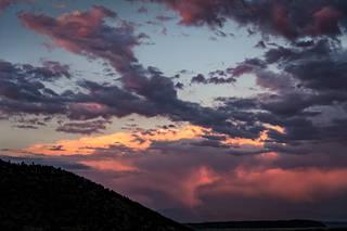 Eastern Sierra Sunset, Summer
