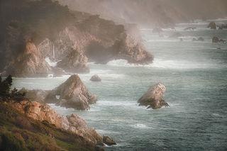 Coast & Fog Sunset