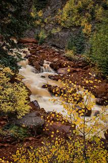 Ouray Creek, Fall