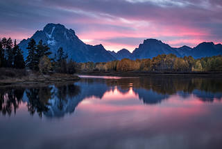 Oxbow Bend Sunset 4
