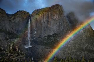 Yosemite Falls Rainbows