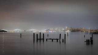 Piers in the Predawn
