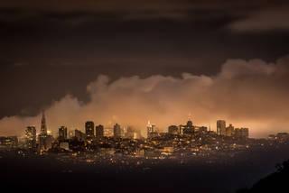 San Francisco Fog Predawn