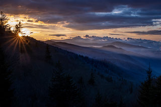 Smoky Mountains Sunrise 4