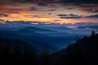 Smoky Mountains Sunrise 2