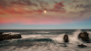 Soberanes Pt Moonset