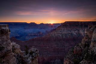 Grand Canyon Sunrise, Mather Pt