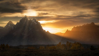 Teton Sunset, Fall 1