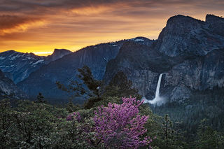 Tunnel View Spring Sunrise