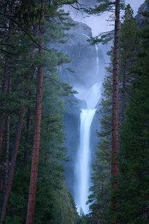 Yosemite Falls Peak Mist