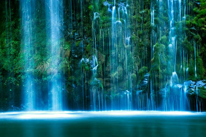 mossbrae, falls, dunsmuir, river, water, waterfall, northern, california, ca, photo