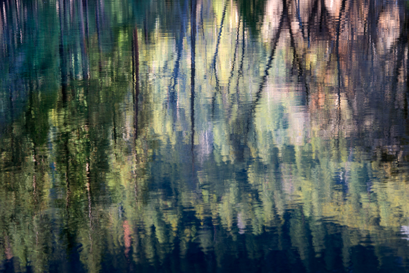 yosemite, valley, water, river, merced, mountain, sierra, impressions, movement, reflection, ca, california, photo
