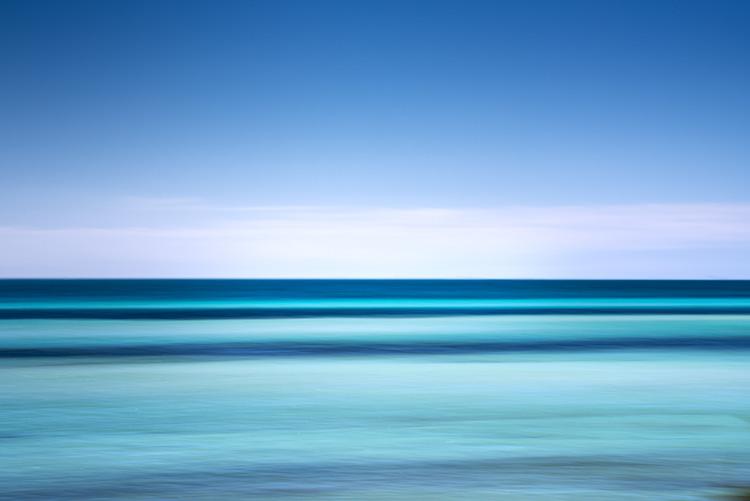 Florida, water, horizon, movement, fl, sky, keys, Bahia Honda state park, photo