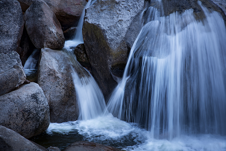 cascade, cascade falls, water falls, falls, ca, california, sierra, mountains, sunrise, water, granite, photo