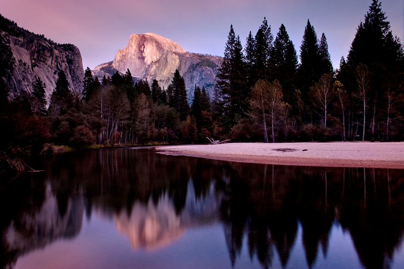 yosemite, fall colors, valley view, sunrise, el cap merced, fall, landscape, sierra, merced, river, water, twilight, photo