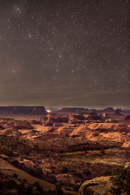 monument valley, southwest, AZ, UT, arizona, utah, indian land, mountains, desert, stars, night, photo