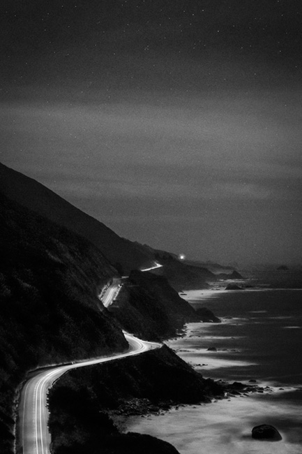 coast, coastal, water, pacific, big sur, sur, big, sunset, twilight, surf, waves, highway 1, hwy 1,  julia, ca, beach, california, photo