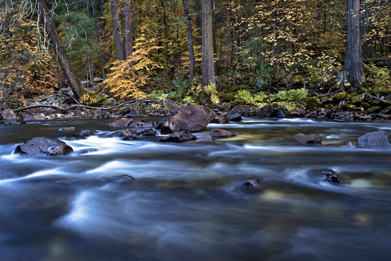 <p>Merced river, merced, river, yosemite, ca, california, sunset, sierra, mountains, fall, colors, water, pohono, dogwood</p>, photo