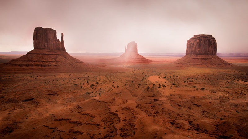 monument valley, southwest, sunrise, AZ, UT, arizona, utah, indian land, mountains, desert, mittens, merrick rock, fog, photo