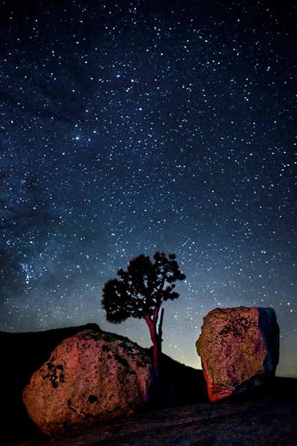 <p>olmsted, point, ca, california, sierra, mountains, sunset, clouds, water, high, country, trees, twilight, milky, way, boulders, spruce, yosemite, stars</p>, photo