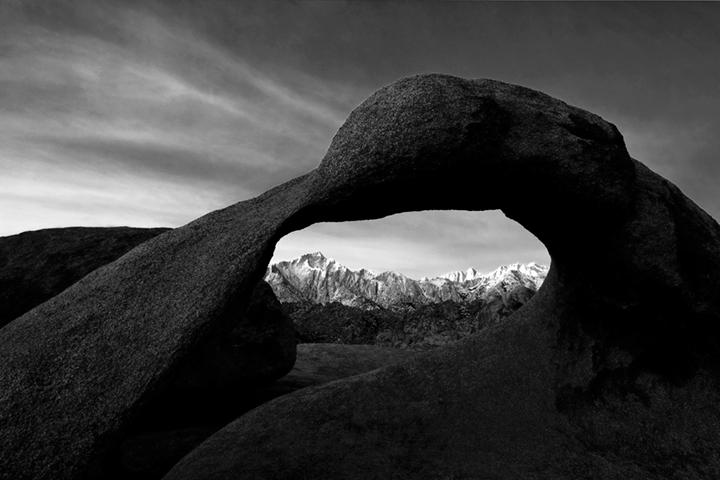 mt whitney arch, mobius arch, mountains, sierra, arch, mobius, ca, california, eastern, sunrise, alabama hills, photo