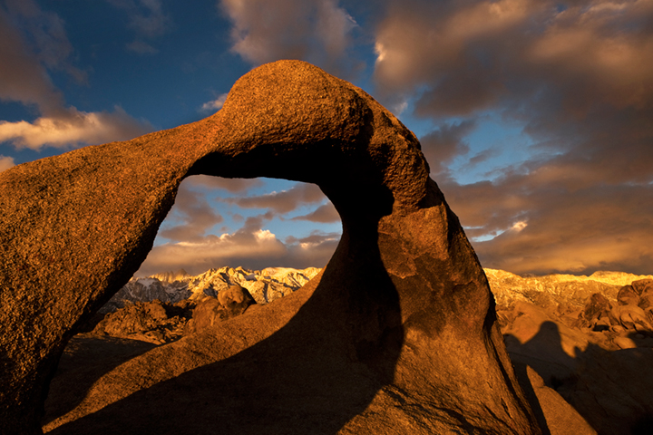 mt whitney arch, mobius arch, mountains, sierra, arch, mobius, ca, california, eastern, sunrise, alabama hills, photo