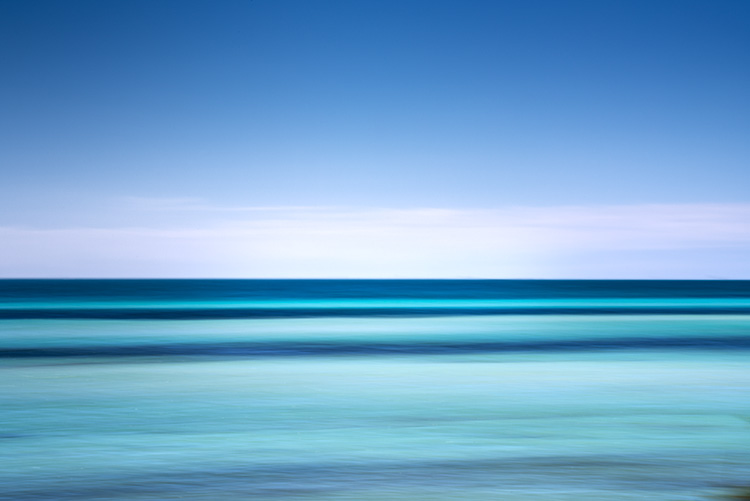 Florida, water, horizon, movement, fl, sky, keys, Bahia Honda state park, photo