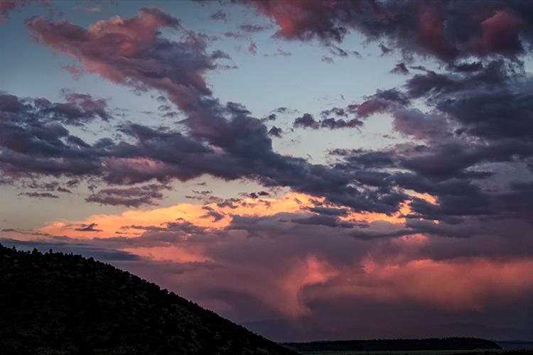 mountains, sierra, CA, california, eastern sierra, clouds, summer storm, owens valley, photo