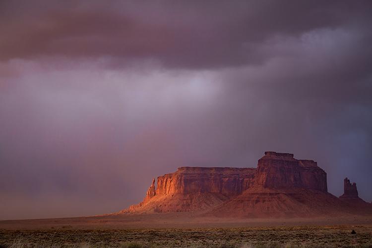 monument valley, arizona, az, utah, ut, mittens, monuments, southwest, indian country, navajo nation, sunset, clearing storm,, photo