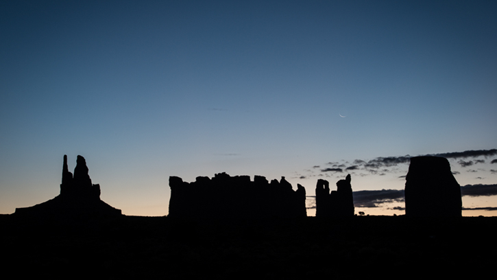 monument valley, southwest, sunrise, AZ, UT, arizona, utah, indian land, mountains, desert, clouds, moonrise, photo