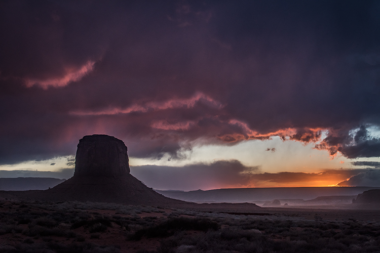 monument valley, arizona, az, utah, ut, mittens, monuments, southwest, indian country, navajo nation, sunset, clearing storm, , photo