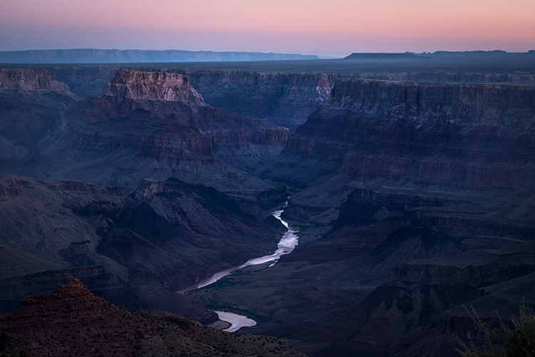 Grand Canyon, Arizona, AZ, colorado river, southwest, west, sunrise, predawn, south rim, photo