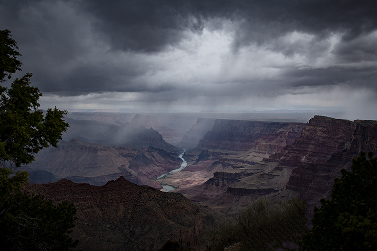 arizona, az, grand canyon, national park, lupan point, lupan, colorado  river, water, southwest, west, colorado plateau, storm, clouds, red rock,, photo