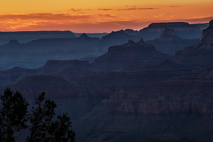Grand Canyon, Arizona, AZ, colorado river, southwest, west, sunset, south rim, photo