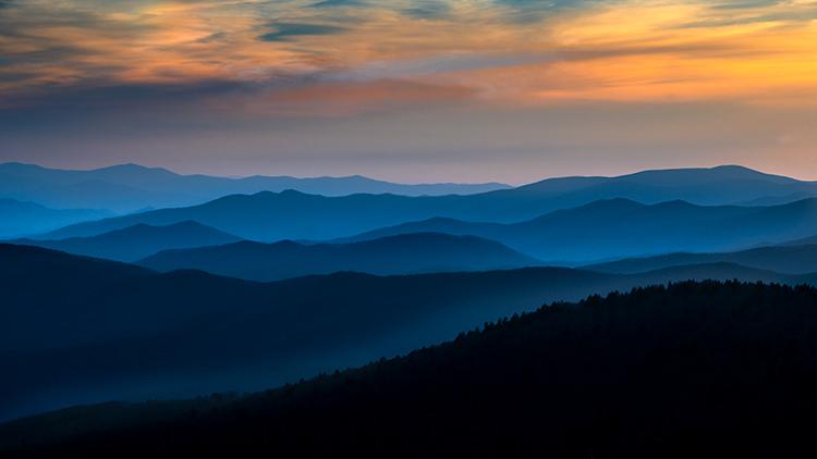 Great Smoky Mountains, smokies, smokys, Tennessee, tn, north carolina, nc, spring, mountains, fog, trees, sunrise, mornings, photo