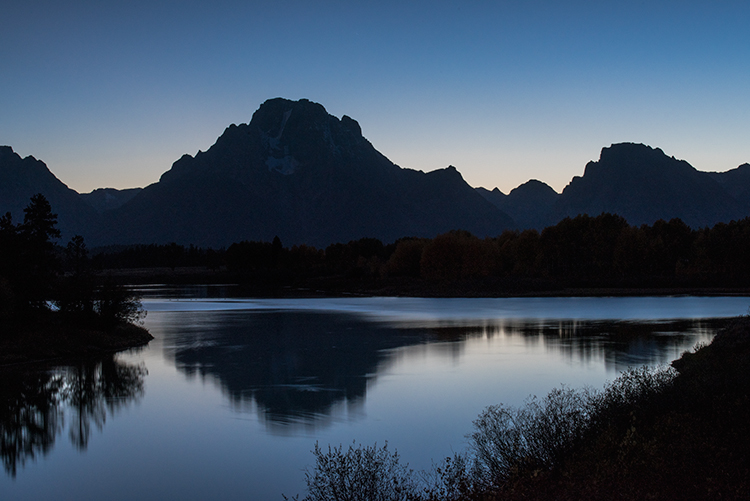 mountains, Wyoming, wy, Tetons, Grand Teton Park, landscape, Fall, trees, aspens, fall color, jackson, oxbow bend, sunrise, snake river, stars, reflections, twilight, photo