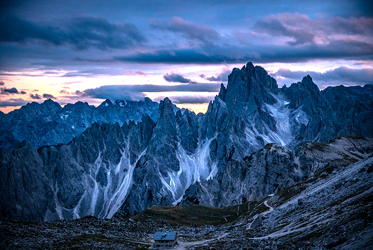 italy, europe, dolomites, dolomite, mountains, cortina, alps, alpine, fall, trees, clouds, tre cime, , photo