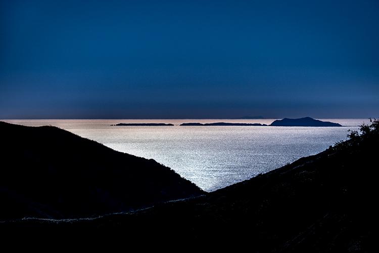 santa ynez mountains, santa barbara, coast, ridge, beach, bay, ca, california, sunrise, water, ocean, pacific, flora, aloes, aloe, surf, sunrise, , photo