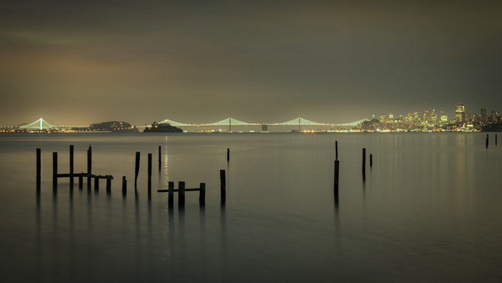 water, pre dawn, san francisco, bay, area, ca, cal, calif, california, sausalito, bay bridge, dawn, golden gate, morning, sunrise, photo