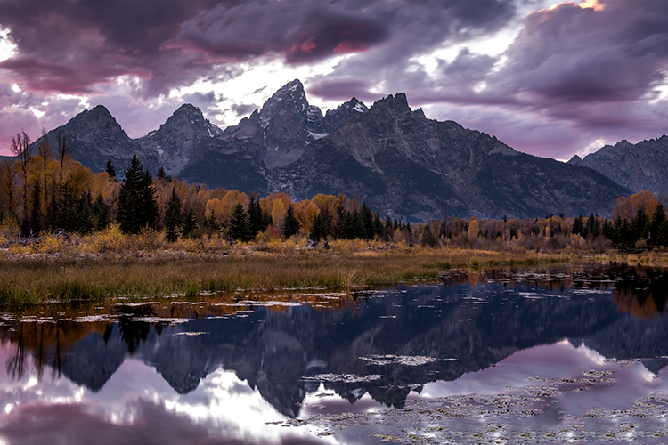grand tendon national park, tetons, oxbow bend, snake river, snake, wyoming, wy, river, mountains, trees, water, fall, color, fall colors, aspens, snake river, grand teton national park,  tetons, nati, photo