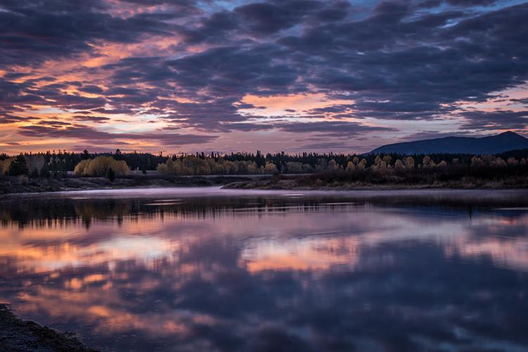 mountains, Wyoming, wy, Tetons, Grand Teton Park, landscape, Fall, trees, aspens, fall color, jackson, schwa baker landing, sunrise, snake river, moonlight, stars, photo