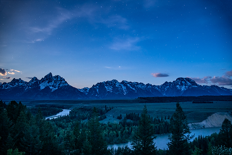 snake river, snake, river, mountains, landscape, tetons, grand tetons, sunrise, clouds, storm, jackson, trees, national park, water, spring, atmospherics, sunrise, stars, predawn, photo