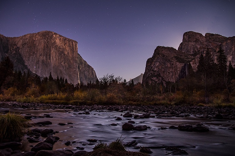 yosemite, national park, ca, california, mountains, sierra, water, half dome, valley, sunset, moonrise, moonlight, moon, fall, colors flora, trees, merced, river, valley view, stars, dawn, sunrise, photo